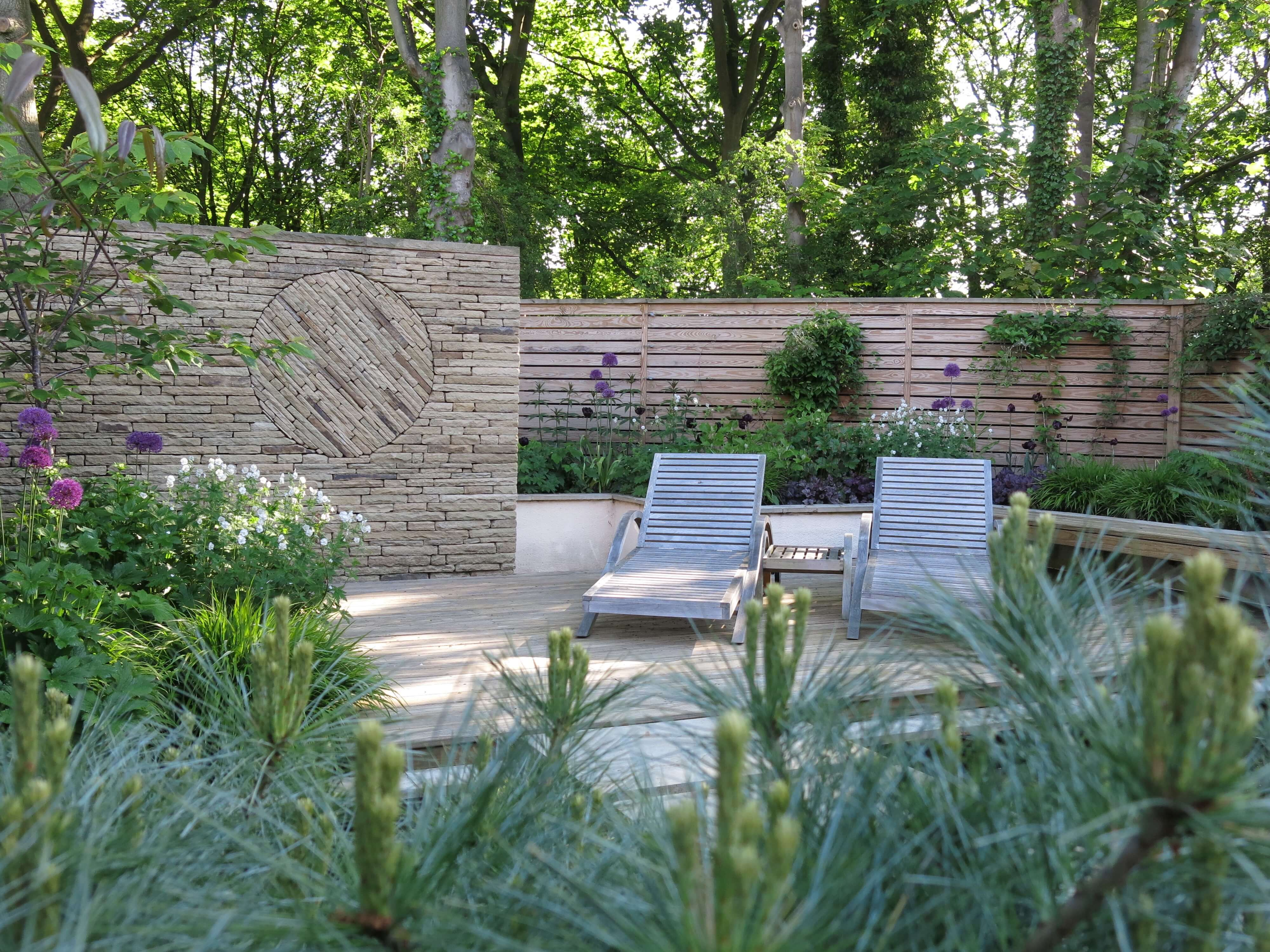 A Contemporary Garden in Wilmslow